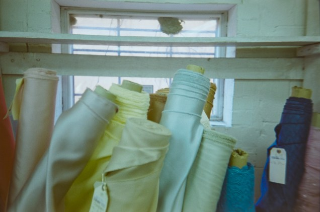 Rolls of Fabric|©JamesECockroft-20150118