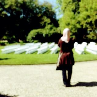 Texas Discovery Gardens: Blurry Hana!