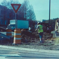 constructing new sidewalks in the middle of nowhere©JamesECockroft 20150228