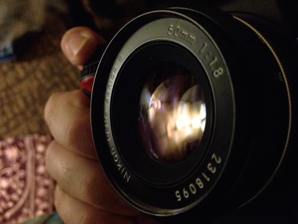 nikon 50mm 1 8 E degradr ed