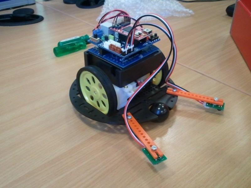 Eric, the .NET Micro Framework Robot