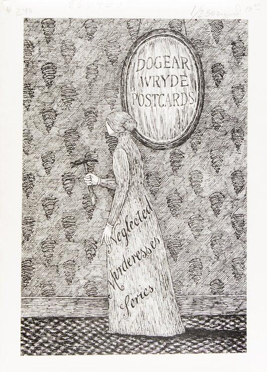 Dogear Wryde Postcards Neglected Murderesses Series