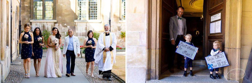 Rev'd Dr James Gardom Chaplain Dean