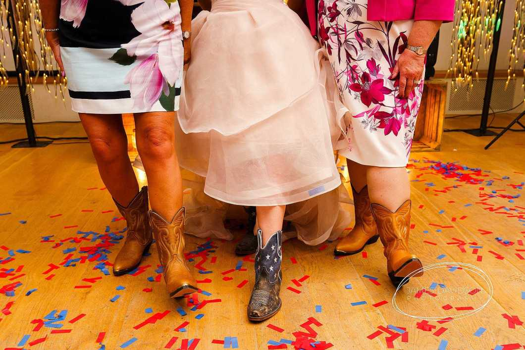 country and western theme wedding