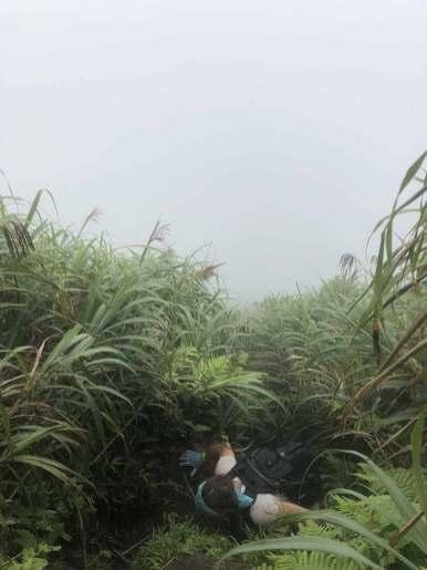 Steep Path near Summit Mt. Iraya