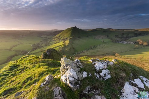 Parkhouse Hill Summit Sunset - Peak District Landscape Photography