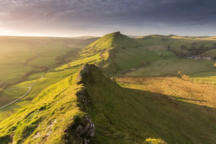 Sony A7R Review - Parkhouse Hill Sunset