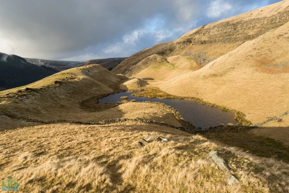 Alport Pool - Peak District Landscape Photography