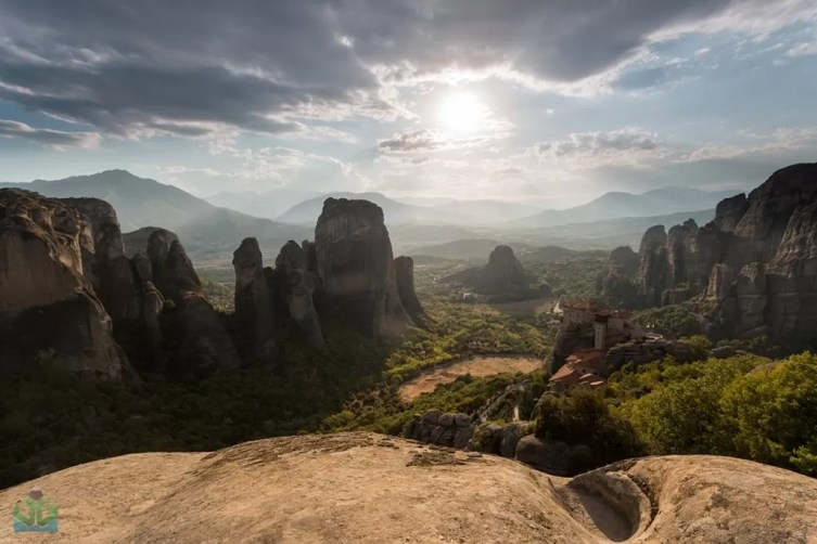 Meteora Light - Greece Photography
