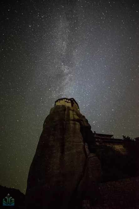Rousano Milky Way - Meteora - Greece Photography