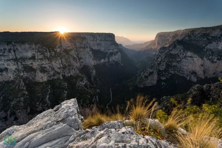 Vikos Gorge Sunset - Greece Photography