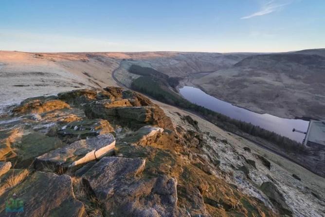 Aldermans Hill Sunrise - Peak District Photography