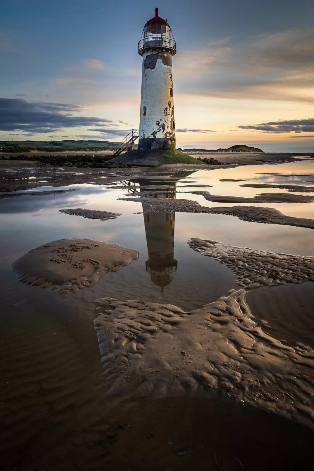 Point of Ayr Lighthouse Sunset – Talacre – Wales Landscape Photography