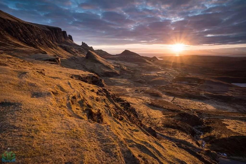 Quiraing Sunrise - Isle of Skye Photography Workshop