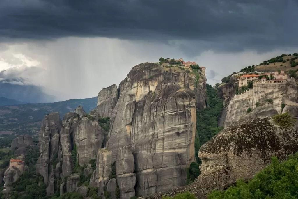 Meteora Drama - Greece Photography