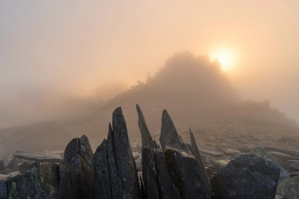 Castell y Gwynt Sunset - Wild Camping Photography Workshop