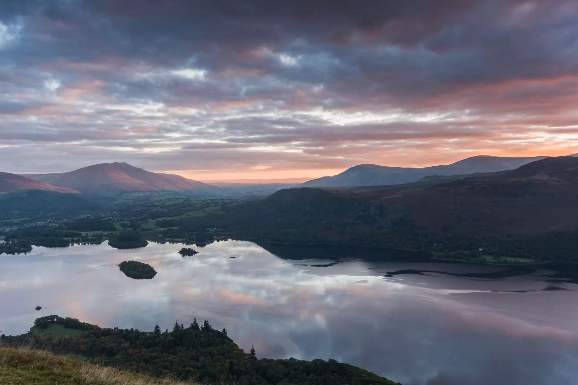 Cat Bells Sunrise - Lake District Photography Workshops