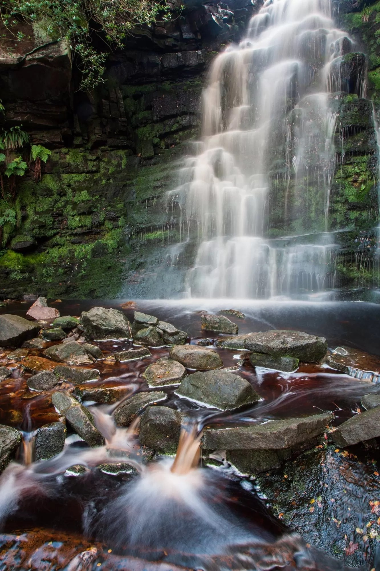 Middle Black Clough  - Peak District Photography