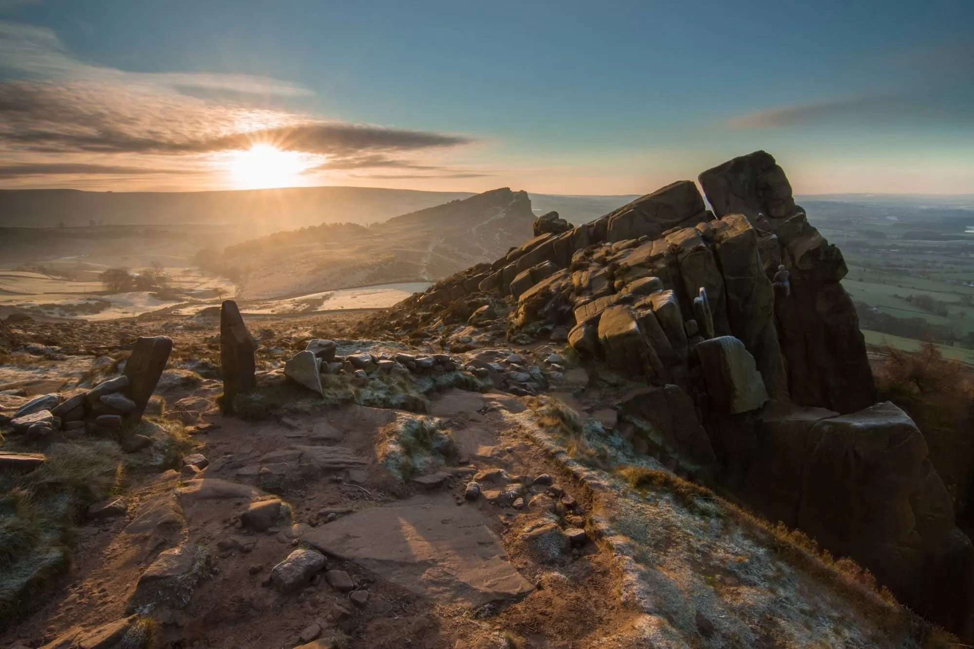 The Roaches Sunrise - Rugged South-West Peak District Photography Workshop