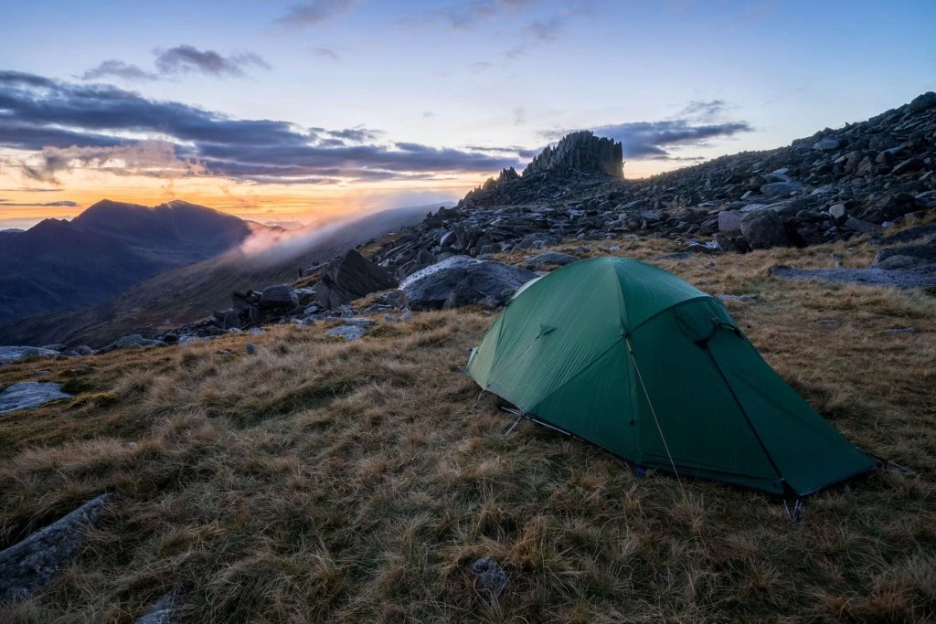 Glyder Fach Wild Camp - Wild Camping Photography Workshops