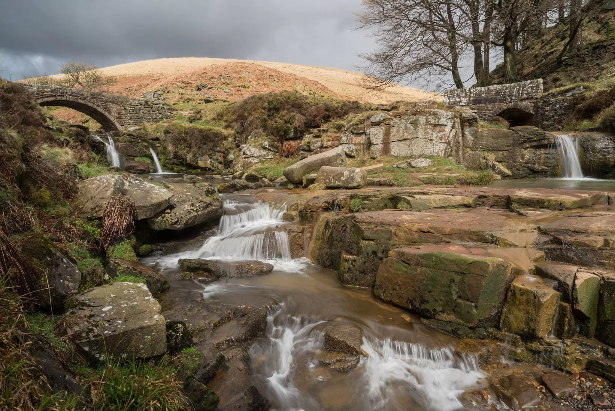 Three Shires Head - Winter in the Peak District Photography Workshop