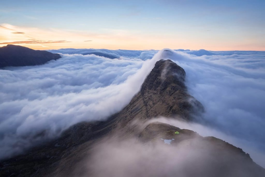 Suilven Sunrise Wild Camping Inversion - Wild Camping Photography Workshops
