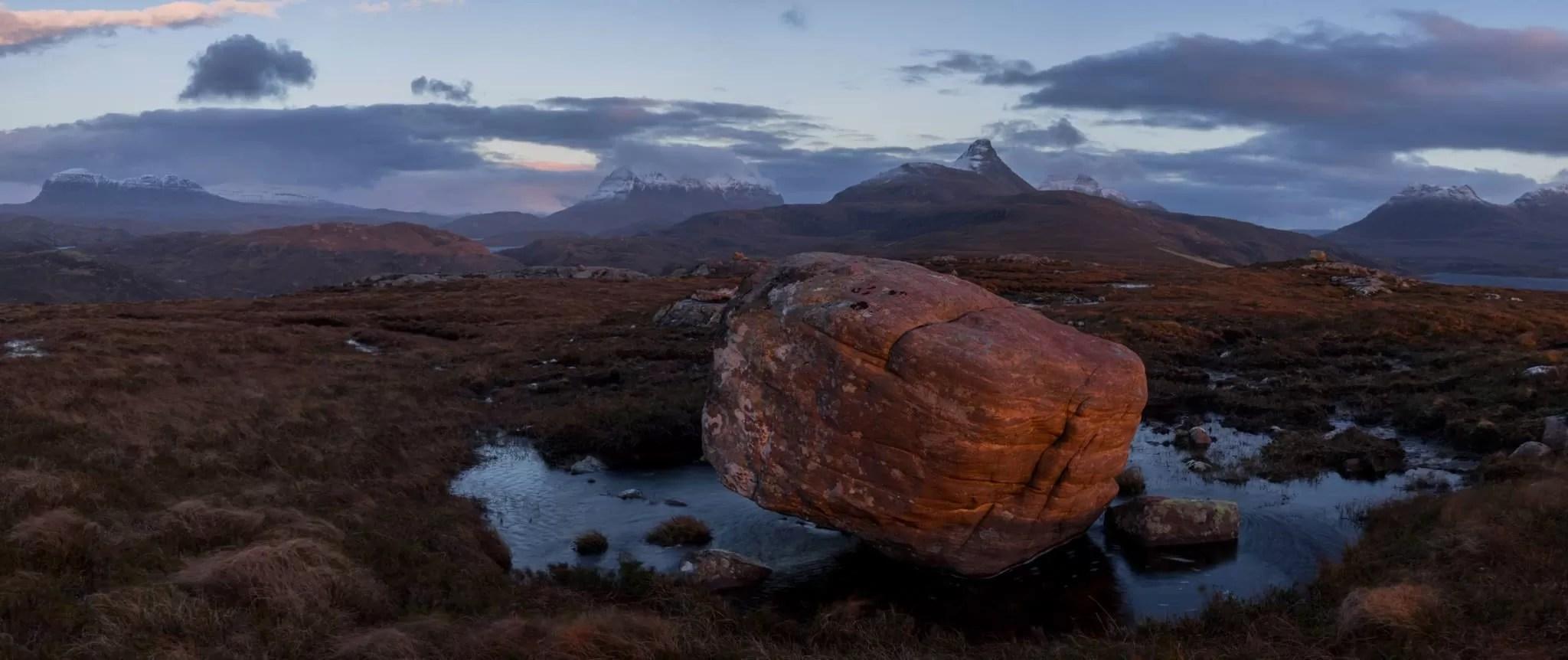 Torrodonian Sandstone - Scotland Photography Workshops