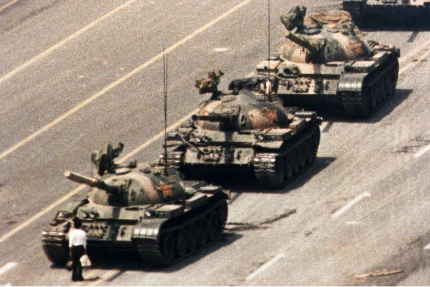 Tank Man (Jeff Widener, 1989)