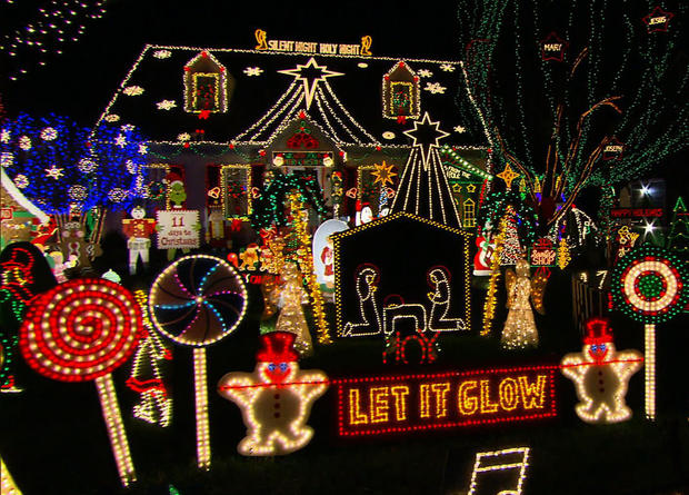 Image result for tacky christmas decorated houses