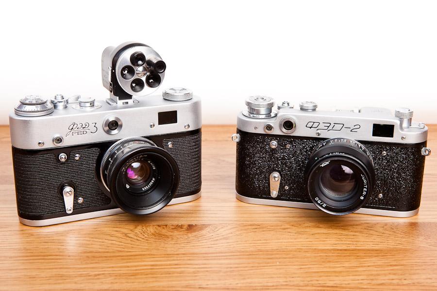 FSU Rangefinder Lens and Body Choices