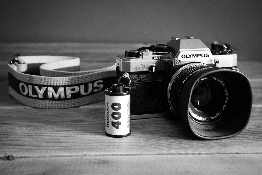 Olympus OM10 and Kentmere 400 Film