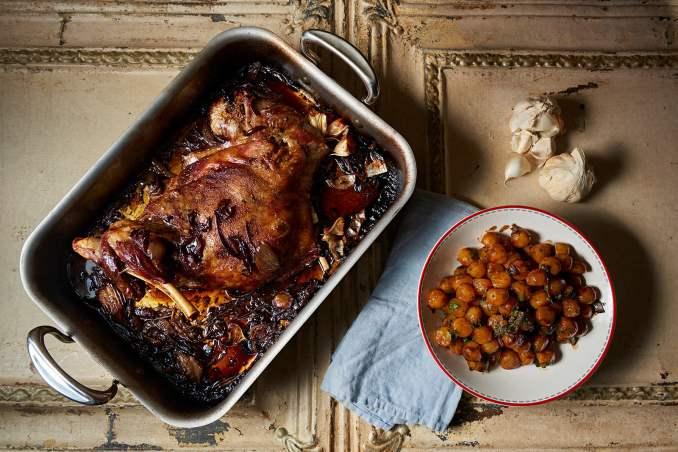 Lamb Shoulder with Parisienne Potatoes | James Martin Chef