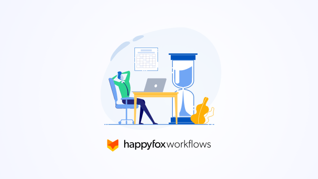 HappyFox工作流软件