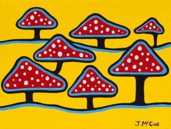 Mushrooms, 11x14