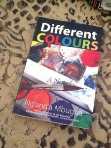 Ng'ang'a Mbugua book Different Colours for Daystar University course