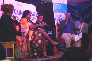 Panel session led by Memory Chirere Photo/Fungai Machirori