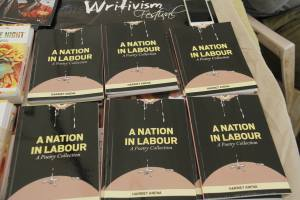 A nation in labour the books Photo/Abubaker Lubowa