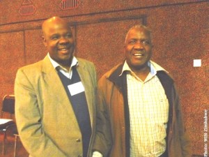 Memory Chirere and Dr TK Tsodzo