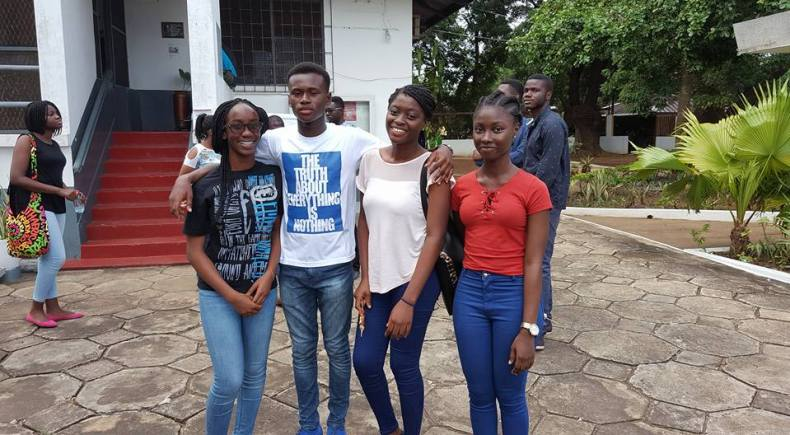 Students at Storymoja Ghana