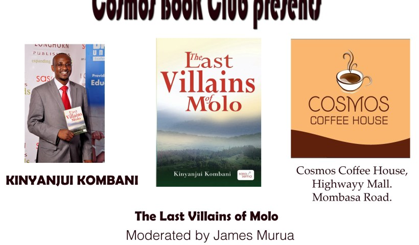 Cosmos Book Club features Kinyanjui Kombani's The Last Villains of Molo