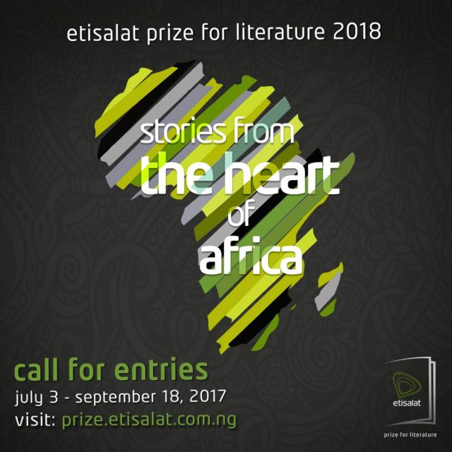 Etisalat Prize for Literature 2018 callout
