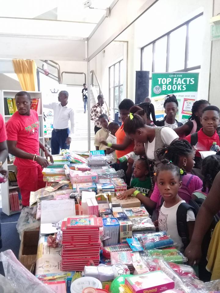 Action at the Ghana International Book Fair 2017