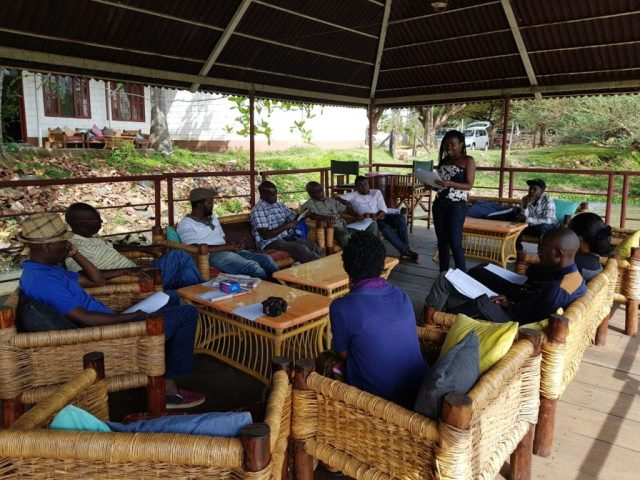 NALIF participants in session Photo/ Oluoch Madiang