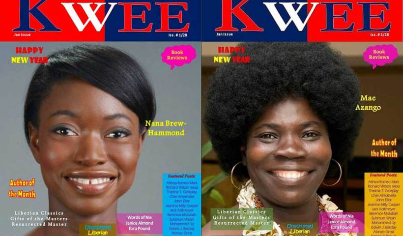 Nana Brew-Hammond and Mae Azango on Kwee Magazine