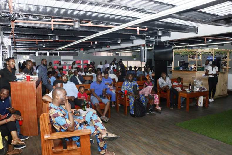 Full house at Dami Ajayi's book launch