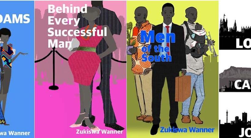 Zukiswa Wanner unveils new covers for four novels.