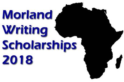 Morland Writing Scholarships for African Writers 2018 open on June 30.