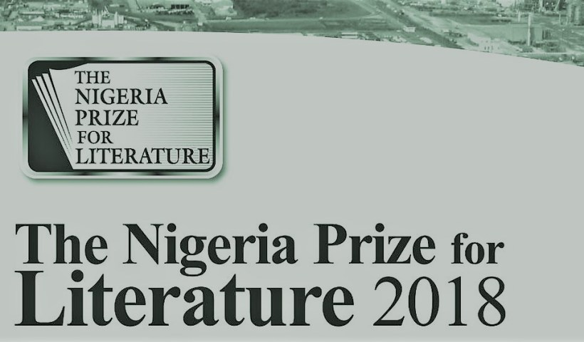 Nigeria Prize for Literature 2018 longlist announced.
