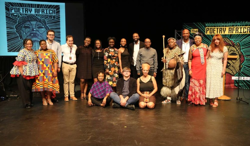 A snapshot of Poetry Africa 2018.