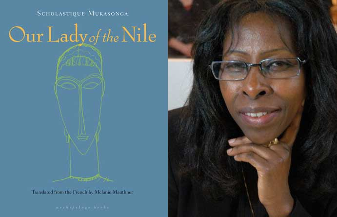 """Scholastique Mukasonga novel """"Our Lady of the Nile"""" in film production."""